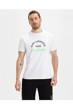 Karl Lagerfeld Homem T-shirts & Manga Curta - T-shirt White