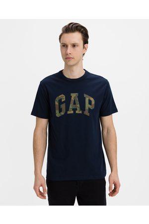 GAP Homem T-shirts & Manga Curta - Camo Arch Logo T-shirt Black