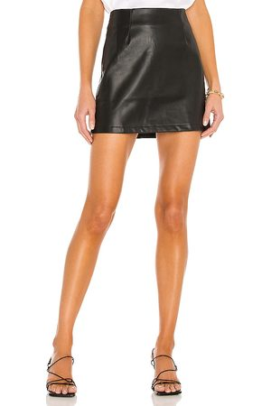 LBLC The Label Abby Vegan Leather Mini Skirt in - . Size L (also in M, S, XS).