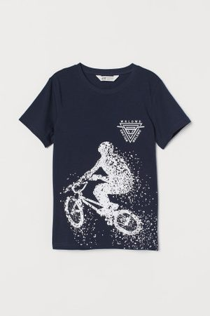 H&M T-shirt com estampado