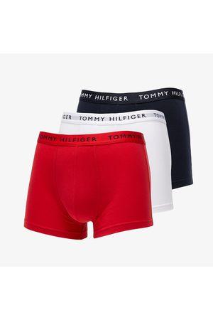 Tommy Hilfiger 3 Pack Trunks / Red/ Desert Sky