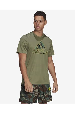 adidas Designed 2 Move Camouflage T-shirt Green