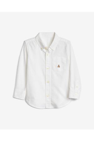 GAP Oxford Button-Down Kids Shirt White