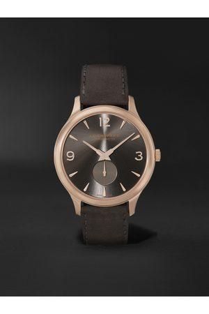 Chopard Homem Relógios - L.U.C XPS Automatic 40mm 18-Karat Rose Gold and Nubuck Watch, Ref. No. 161948-5003