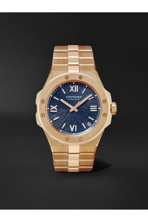 Chopard Homem Relógios - Alpine Eagle Large Automatic 41mm 18-Karat Rose Gold Watch, Ref. No. 295363-5001