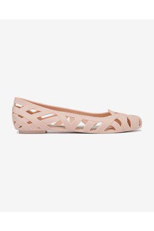 Melissa Senhora Jeans - Jeans Jason Wu VII Ballet pumps Pink Beige