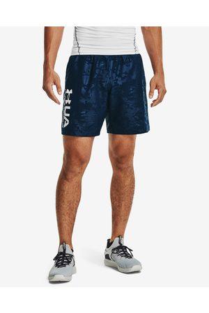 Under Armour Woven Emboss Shorts Blue