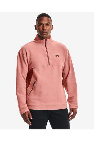 Under Armour Recover Sweatshirt Pink Beige