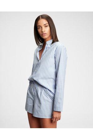 GAP Pajama Shirt Blue