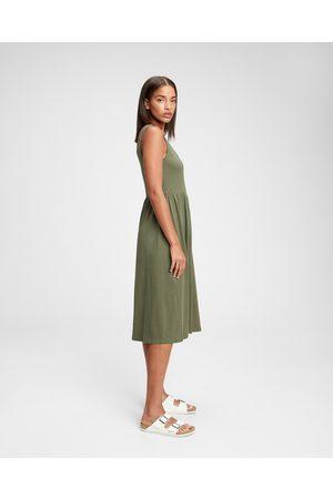 GAP Casual Dress Green