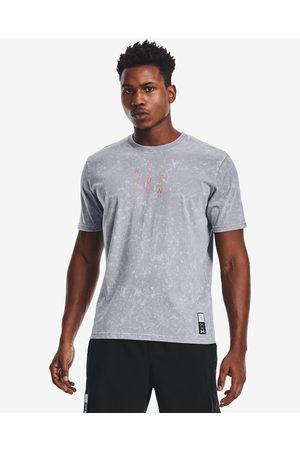 Under Armour Homem T-shirts & Manga Curta - Run Anywhere T-shirt Grey