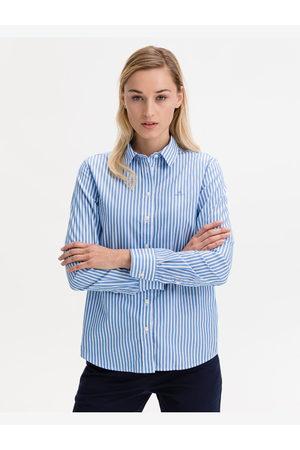 GANT Broadcloth Shirt Blue