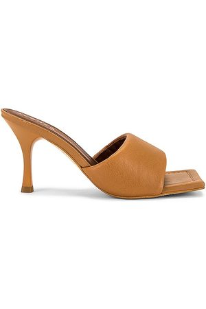 ALOHAS Puffy Mule in - Brown. Size 35 (also in 36, 37, 38, 39).