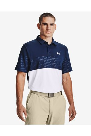 Under Armour Playoff 2.0 Blocked Polo T-shirt Blue
