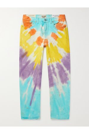 Gallery Dept. Marley Distressed Tie-Dyed Denim Jeans