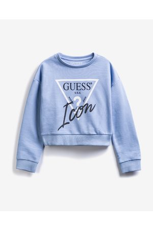 Guess Menina Camisolas sem capuz - Active Icon Kids Sweatshirt Blue