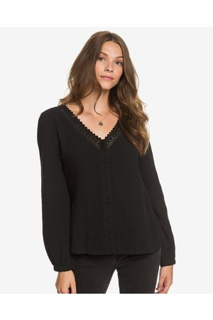 Roxy Before You Go Blouse Black