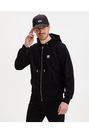 Diesel Homem Camisolas sem capuz - Sweatshirt Black