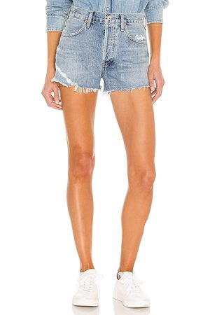 Citizens of Humanity Annabelle Cut Off Short in - Blue. Size 23 (also in 24, 25, 26, 27, 28, 29, 30, 32, 33).