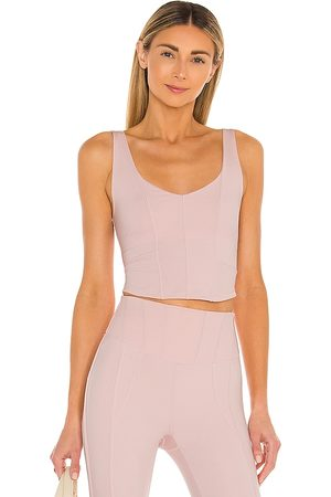 Free People X FP Movement Grand Finale Cami Solid in - Mauve. Size L (also in M, XS, S).