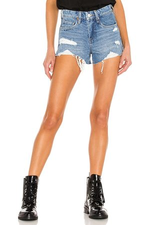 BLANK NYC Denim Cut Off Short in - Blue. Size 24 (also in 25, 26, 27, 28, 29, 30, 31).