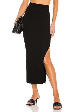 ENZA COSTA Silk Rib Pencil Skirt in - . Size M (also in XS, S).