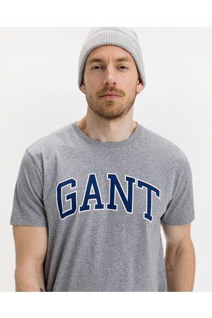GANT Arch Outline T-shirt Grey