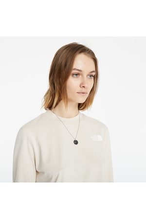The North Face LongSleeve Crop Tee Pink Tint