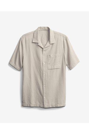 GAP Homem Manga curta - Shirt Beige