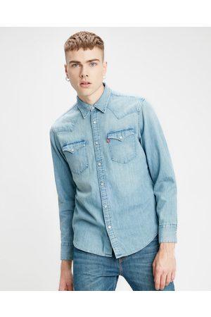 Levi's Homem Manga comprida - Barstow Western Standard Shirt Blue