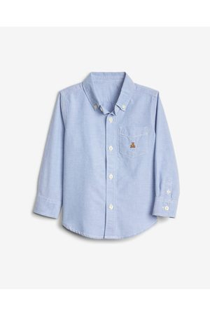 GAP Oxford Button-Down Kids Shirt Blue