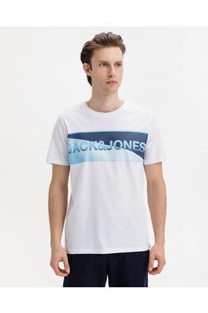 Jack & Jones Homem T-shirts & Manga Curta - Jenson T-shirt White