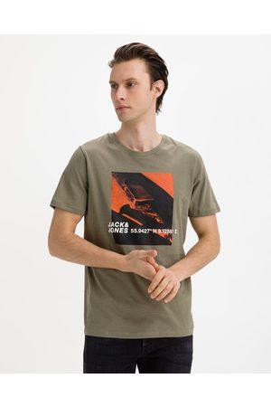 Jack & Jones Homem T-shirts & Manga Curta - Jump T-shirt Green
