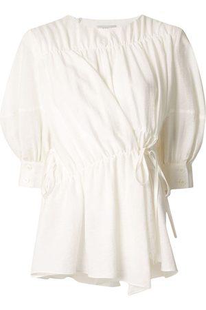 GOEN.J Senhora Blusas - Multi-directional ruched blouse