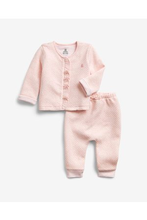 GAP Quilted Outfit Children's tracksuit Pink