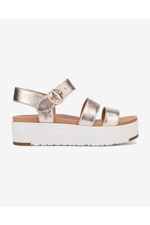UGG Leedah Sandals Pink Silver