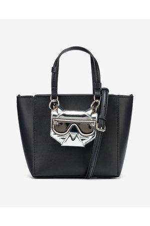 Karl Lagerfeld Senhora Malotes - Cyber Choupette Tote Handbag Black