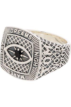 TOM WOOD Sterling Championship signet ring