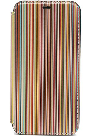 Paul Smith Homem Phones - Signature stripe iPhone 11 pro case