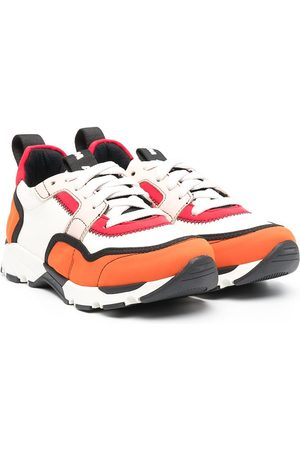 Marni Colour-block lace-up trainers