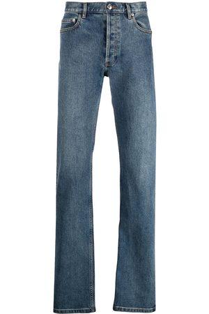 A.P.C. Homem Retos - Mid-rise straight-leg jeans