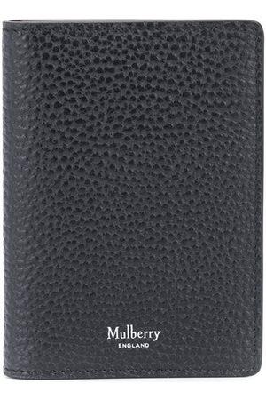 MULBERRY Homem Bolsas & Carteiras - Grained-effect leather cardholder