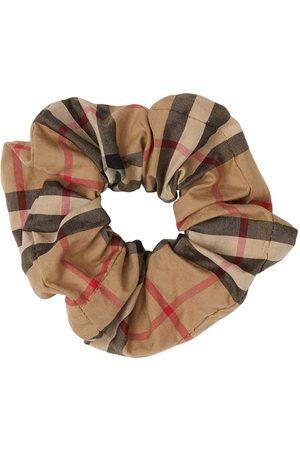 Burberry Menina Acessórios de Cabelo - Vintage Check scrunchie