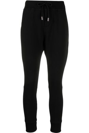 Dsquared2 Drawstring stretch-fit track pants