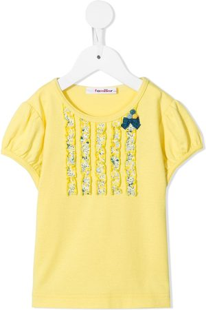 Familiar Bow-detail T-shirt
