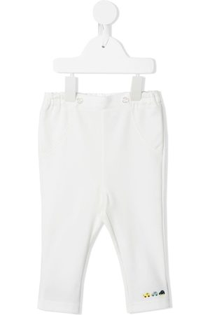 Familiar Embroidered elasticated trousers