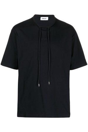 AMBUSH Homem T-shirts & Manga Curta - Drawstring-collar short-sleeve T-shirt