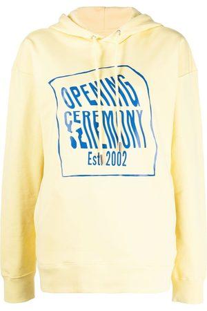 Opening Ceremony Senhora Tops de Cavas - Logo-print hoodie