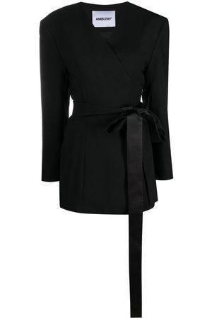 AMBUSH Wrap-front blazer