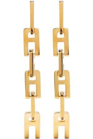 AMBUSH Senhora Brincos - A chain-link earrings